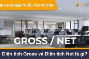 diện tích Gross và diện tích Net là gì